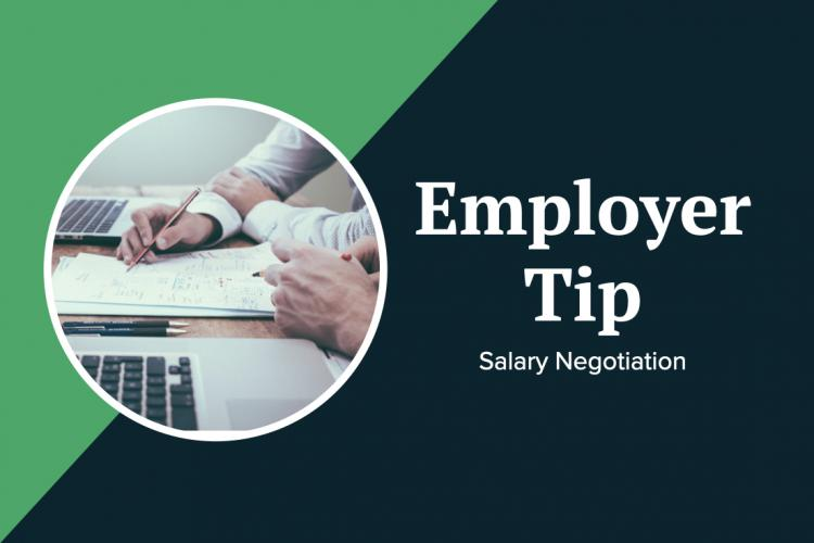 Strategy on sharing salary when running a job search