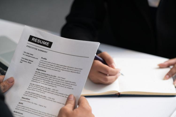 What employers want from a résumé, though you're probably not doing it